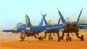 F-18 Digital Art - Hot Blues by Gus McCrea