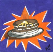 Pancake Prints - Hot Cakes Print by Rob  Parker