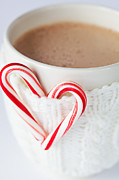 Hot Cocoa Framed Prints - Hot Chocolate Framed Print by Kim Fearheiley