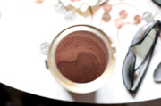 Cocoa Powder Art - Hot Chocolate by Steven Dunn
