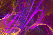 Fractal Geometry Digital Art Originals - Hot Dance by William Wright