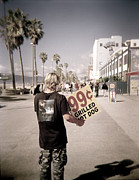Venice Beach Palms Prints - Hot Dogs Print by James Callaghan