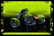 Brenda Gutierrez Moreno - Hot Green Bike