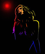 Sensual Digital Art - Hot Light by Stefan Kuhn