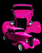 Pink Hot Rod Photos - Hot Pink 33  by Peter Piatt