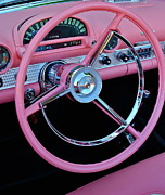 Classic Ford Posters - Hot Pink Poster by Dorota Nowak
