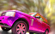 Daphne Sampson - Hot Pink Range Rover