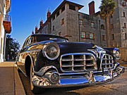 Monica Framed Prints - Hot Ride at the Casa Monica Framed Print by Elizabeth Hoskinson