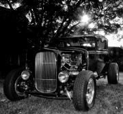 Ford Model A Framed Prints - Hot Rod - Ford Model A Framed Print by Bill Cannon