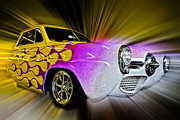Hot Rod Art Print by Steve McKinzie