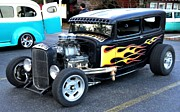 Hot Rod Print by John Black