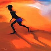 Haitian Digital Art Prints - Hot Sands Print by Bob Salo