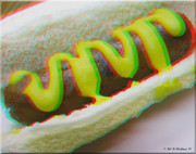 Stereoscopy Photos - Hotdog - Use Red-Cyan 3D glasses by Brian Wallace