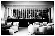 Lounge Prints - Hotel Bar Print by John Rizzuto