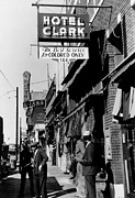 Segregation Framed Prints - Hotel Clark On Beale Street, Circa Framed Print by Everett