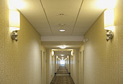 Journeys End Prints - Hotel Corridor Print by Dave & Les Jacobs