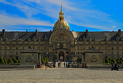 Invalides Framed Prints - Hotel des Invalides Framed Print by Louise Heusinkveld