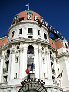 Belle Epoque Photo Prints - Hotel Negresco in Nice Print by Carla Parris