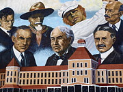 Murals - Hotel Punta Gorda close-up by Charles Peck
