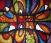Hour Glass 2 Print by Jill English