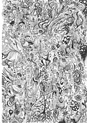 Carol Mclagan Art - Hours of Doodling by Carol McLagan