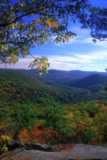 Litchfield Hills Prints - Housatonic Valley from Pine Knob Print by John Burk