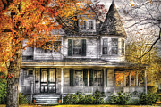 Realty Posters - House - Classic Victorian Poster by Mike Savad