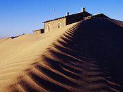 Abandoned Houses Photos - House Buried in Sand by Jeremy Woodhouse