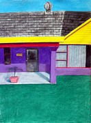 House Pastels - House by Howard Bosler