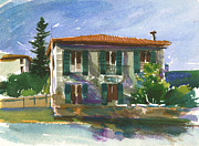 Azur Originals - House In Nice by Kathleen Burke
