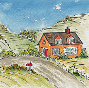 Countryside Originals - House In The Country by Pat Katz