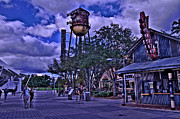 Downtown Disney Photos - House Of Blues HDR by Jason Blalock
