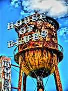 Flowery Posters - House of Blues Orlando Poster by Corky Willis Atlanta Photography