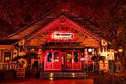 House Digital Art Originals - House of Blues by Paul Bartoszek
