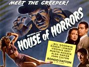 Lobbycard Framed Prints - House Of Horrors, Rondo Hatton Framed Print by Everett