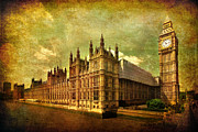 Big Ben Posters - House Of Parliament - London Poster by Yhun Suarez