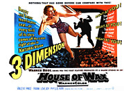 1950s Movies Framed Prints - House Of Wax, 1953 Framed Print by Everett