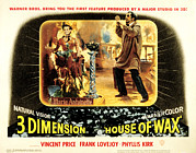 Posth Posters - House Of Wax, Vincent Price, 1953 Poster by Everett