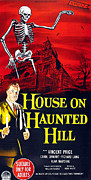 1959 Movies Photo Posters - House On Haunted Hill, Bottom Left Poster by Everett
