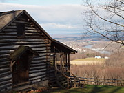 Log Cabins Photographs Photos - House On The Hill by Robert Margetts