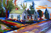 First Art Show - House Road by John Gholson