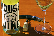 House Digital Art Originals - House Wine by John Galbo