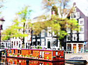 Miniature Photo Originals - Houseboat by Stefan Huber