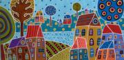Karla Gerard - Houses And Trees By The...