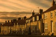 Municipality Prints - Houses At Dusk, Thaornton Le Dale Print by John Short
