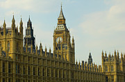 Government Building Posters - Houses Of Parliament Poster by Paulbence Photography
