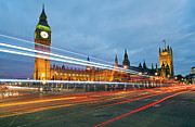 Land Vehicle Prints - Houses Of Parliament Print by Ray Wise