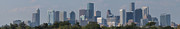Sky Line Art - Houston Skies by Joshua House