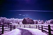 Infrared Originals - Hovander Homestead 5 by Julius Reque