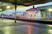 Hove Framed Prints - Hove Station Framed Print by Nigel Chaloner